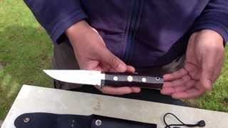 getlinkyoutube.com-Fallkniven TK1 Mini Review and Fire making