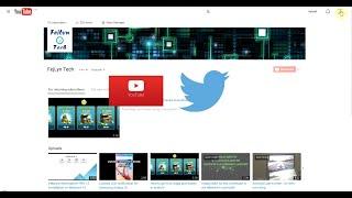 getlinkyoutube.com-How to link YouTube and Twitter accounts