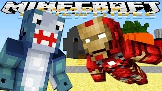getlinkyoutube.com-Minecraft Adventures - Sharky & Scuba Steve -MINEVENGERS VISIT BIKINI BOTTOM