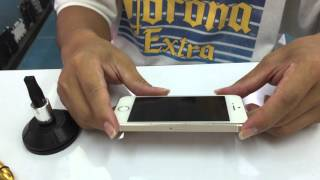 getlinkyoutube.com-iPhone 5S หน้าจออ้านูนออกมา ตำบลสวนดอก ลำปาง ส่งมาซ่อมกับ ช่างตั้มท่าน้ำนนทบุรี