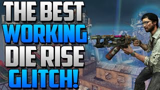 getlinkyoutube.com-Black Ops 2 Zombie Glitches: BEST WORKING GLITCH ON DIE RISE! (Unlimited Rounds & More)