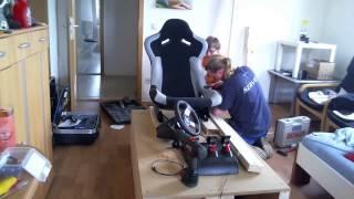 getlinkyoutube.com-Sim-Rig Eigenbau Speedmotion Zeitraffer [HD]