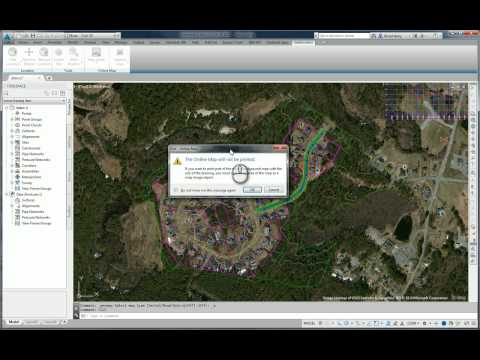 Aerial Images in Civil 3D 2015