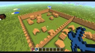 getlinkyoutube.com-Minecraft Clay Soldiers Village