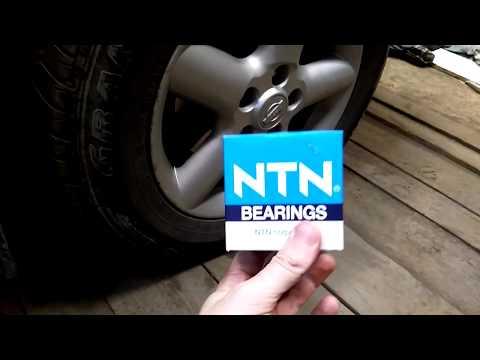 Замена ступичного подшипника на Nissan X-trail T30