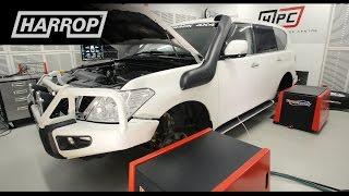 getlinkyoutube.com-Nissan Patrol Y62 VK56 V8 | Harrop Supercharger Kit