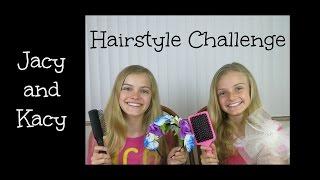 getlinkyoutube.com-Hairstyle Challenge ~ Jacy and Kacy