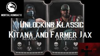 getlinkyoutube.com-Mortal Kombat X iOS - Unlocking Farmer Jax/Klassic Kitana