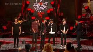 [HD] One Direction - Midnight Memories -  X Factor USA 2013 Finale width=