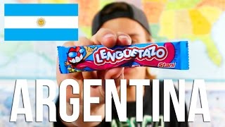 getlinkyoutube.com-Trying ARGENTINIAN Candy!