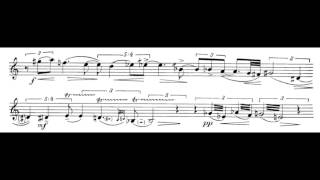getlinkyoutube.com-Edison Denisov (1929 - 1996) - Sonata for Clarinet Solo (1972)