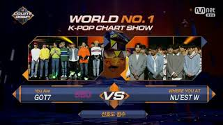 (HD)Nu'Est W First Win M Count Down 191017