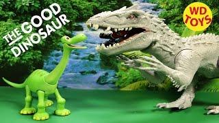 Disney Good Dinosaur Arlo Vs Indominus Rex Jurassic World , Pixar By WD Toys
