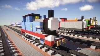 getlinkyoutube.com-Thomas the Tank Engine Minecraft Tutorial