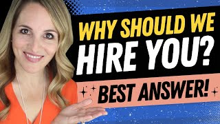 Why Should We Hire You Interview Question   BEST Sample Answer