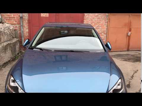 Зеркала со складыванием и подсветкой. VW Golf 7.
