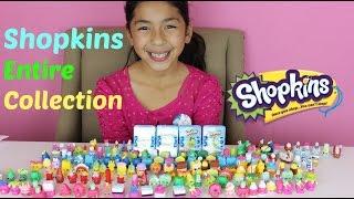 getlinkyoutube.com-HUGE SHOPKINS COLLECTION 200 Shopkins+ 4 Shopkins Baskets|B2cutecupcakes