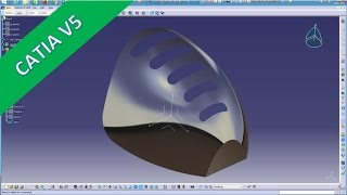 Userwish 3 - Catia v5 GSD Training - Multi section surface