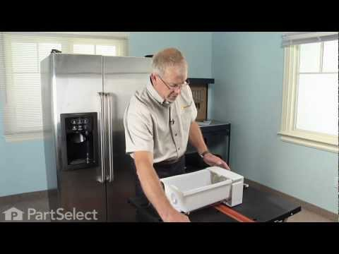 Refrigerator and IceMaker Repair - Replacing the Auger Assembly (GE Part# WR17X11705)