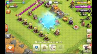 getlinkyoutube.com-Gemming to TH 8 140,000 Gems!