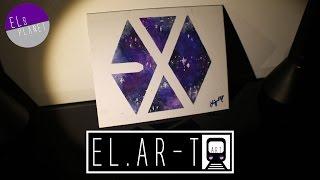 getlinkyoutube.com-DIY: EXO (엑소) Galaxy Logo | EL.AR-T | EL's Planet