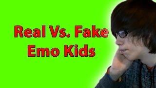Real Emo Vs. Fake Emo
