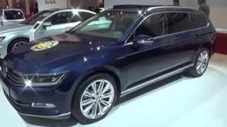 getlinkyoutube.com-2015, Volkswagen Passat Variant, Exterior and Interior, Auto Show AutoRAI Amsterdam 2015