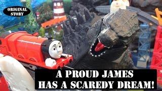 getlinkyoutube.com-Thomas & Friends Tale of the Brave Story Scared James Original Play doh Dream Story!