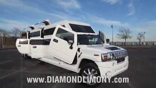 getlinkyoutube.com-EXOTIC Hummer H2 Transformer - ONLY @ Diamond Limo NY