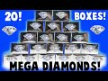 MEGA MEGA Diamond Dig It Unboxing! 20 Boxes! Did I Find a Diamond?