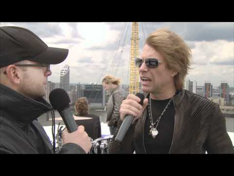 Ben Jones meets Jon Bon Jovi on the O2 roof!