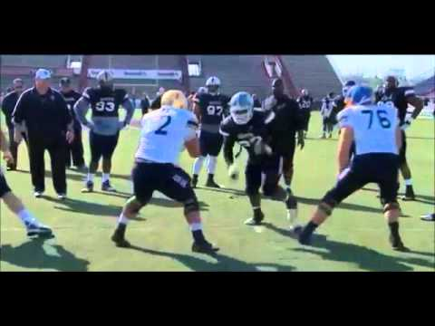2013 Senior Bowl - D-Line vs O-Line ONLY