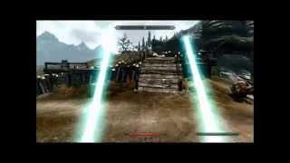 getlinkyoutube.com-Skyrim: Shingeki No Kyojin Male vers x Star Wars (attack on titan)