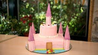 getlinkyoutube.com-Tarta Castillo Princesa para Fiestas, Cumpleaños o Comuniones