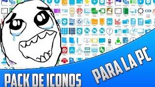 getlinkyoutube.com-Descargar Pack De Iconos Para Windows 8 / 8.1 / 10
