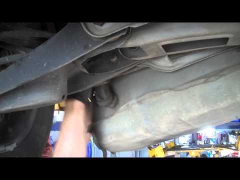 Fuel pump replacement Pontiac Bonneville 1987-1991 Install Remove Replace