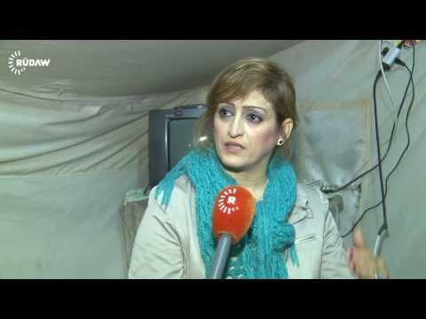 تقرير عن مخيمات اللاجئين الكورد في مخيم قوشتبه -الإعلامي دلخاز بهلوي