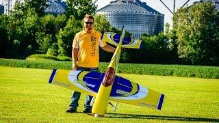 getlinkyoutube.com-Joe Smith Aeroworks 30cc Freestyle Extra 260 at Galion