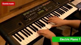 getlinkyoutube.com-Yamaha PSR-E253 Voice demo 음색 시연