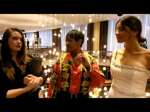 Day #3 New York Bridal Week 2014 - Interview with Sondra Falk Couture at New York Hilton-Midtown