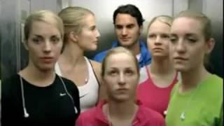 Nike Commercial- Men VS Woman(Federer,Torres,Ibrahimovic..)