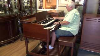 1957 Vintage Hammond B-3 Organ with two Leslie 122 speakers for sale (#174)