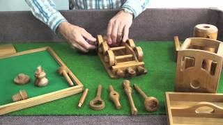 getlinkyoutube.com-Handcrafted Wooden Toys with Tools - The Steam Engine