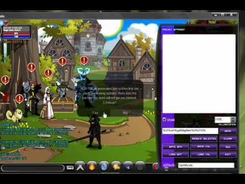 aqw dark mystic purple download