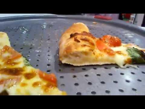 Maquina de abrir disco de pizza Sigma - imagens feitas durante a Expo Pizza de Las Vegas 2014