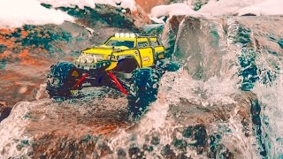 Traxxas 1/16 Summit VXL Water Adventure - 4K