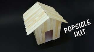 How to make a Popsicle stick house - Beautiful