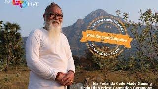 getlinkyoutube.com-Pelebon - Cremation Ceremony Hindu High Priest Ida Pedanda Gede Made Gunung in Bali