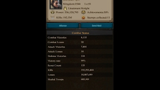getlinkyoutube.com-Clash Of Kings | Kingdom Conquest | kd 1544 vs kd 1663