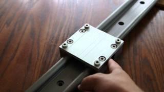 getlinkyoutube.com-Quick review of the IGUS W16-A Drylin Camera Slider.